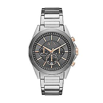 Armani Exchange Chronograph quartz men's Watch with stainless steel band AX2606