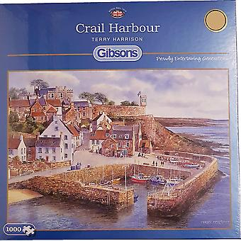 Crail Harbour 1000pc Jigsaw by Gibsons