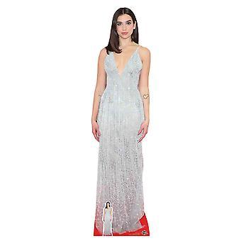 Dua Lipa White Dress Cardboard Cutout / Standee / Standup / Standee