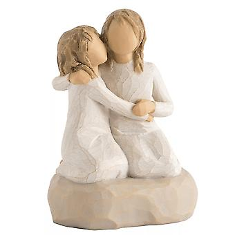 Willow Tree Sister Mine Hand Painted Figurine