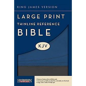 KJV Thinline Reference Bible (Large Print edition) by Hendrickson Bib