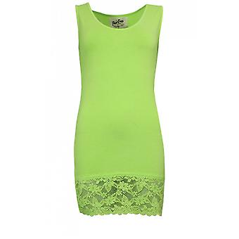 A Postcard from Brighton Sammy Lime Green Vest