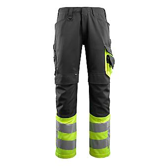 Mascot leeds hi-vis trousers 15679-860 - safe supreme, mens -  (colours 1 of 3)
