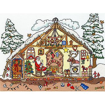 Bothy Threads Cross Stitch Kit - Cut Thru' Christmas Bothy