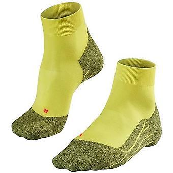 Falke Running 4 Leichte kurze Socken - Sulfer Gelb