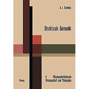 Strukturale Semantik by Algirdas Julien Greimas - 9783528073145 Book
