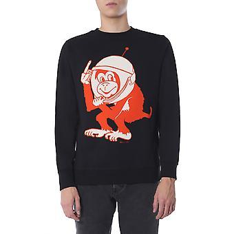 Ps By Paul Smith M2r027rap175779 Men's Black Cotton Sweatshirt