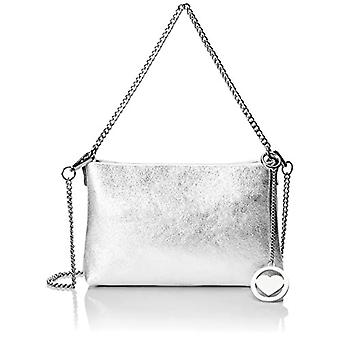 Chicca Bags Cbc34008tar Women's Shoulder Bag (Silver) 5x16x25 cm (W x H x L)