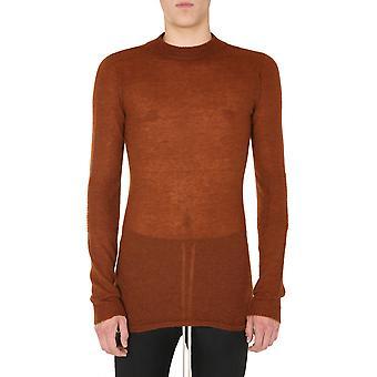 Rick Owens Ru20f3625kai173 Men's Brown Wool Sweater