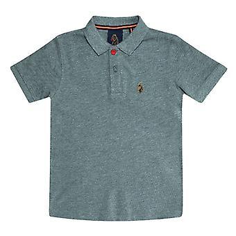 Boy's Luke 1977 Infant Williams Polo Shirt in Grey