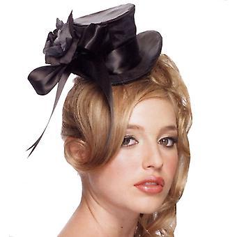Chapeau haut de forme noir Mini pour tous