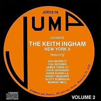 Keith Ingham - Vol. 2-Keith Ingham New York 9 [CD] USA import