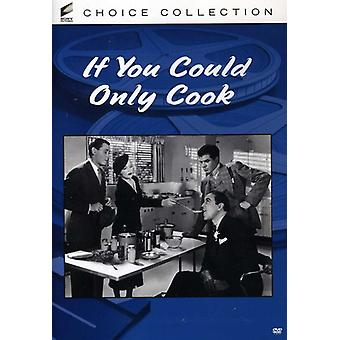 If You Could Only Cook [DVD] USA import