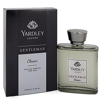 Yardley Gentleman Classic by Yardley London Eau De Parfum Spray 3.4 oz  / 100 ml (Men)