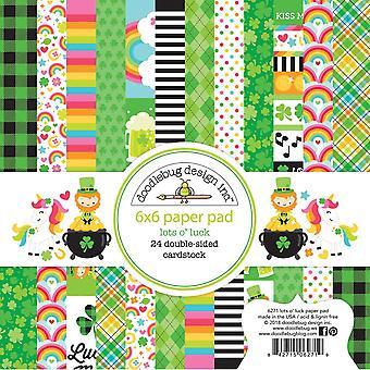 Doodlebug Design Lots o' Luck 6x6 Inch Paper Pad