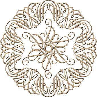 Tryllebindere Glimmer Plate - Becca Feeken - Elegant Circle Glorious