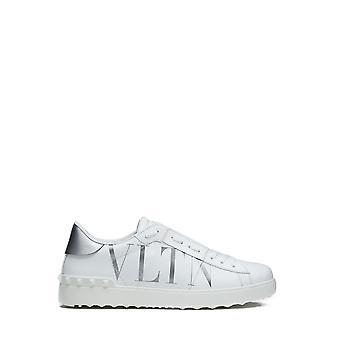 Valentino Garavani Uy2s0830pst2c0 Heren's Witte Leren Sneakers