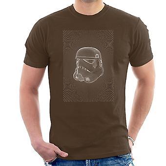 Star Wars Stormtrooper Radial Desenho Men 's T-Shirt