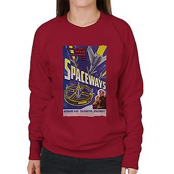 Hammer Horror Film Spaceways Film Poster Donne's Sweatshirt