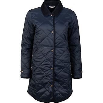 Barbour Peppergrass Longline Quilted Jacket
