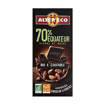 Dark chocolate ecuador 70% organic 100 g