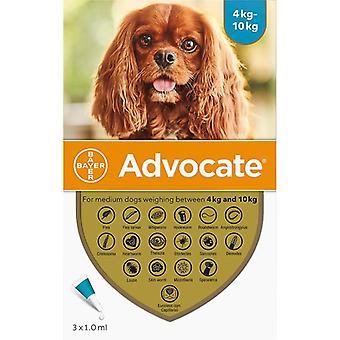 Advocate Dogs 4-10kg (8.8-22lbs) - 3 Pack