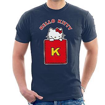 Hello Kitty Yellow K Miehet&s T-paita