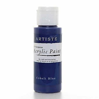 Docrafts Akryl Paint (2oz) - Kobolt Blå (DOA 763229)