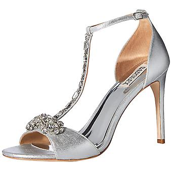 BADGLEY MISCHKA Womens PASCALE 2 Leather Open Toe Bridal Ankle Strap Sandals