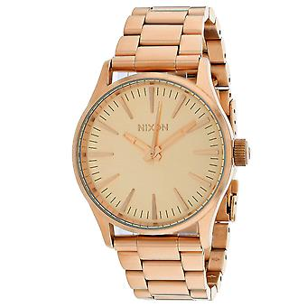 200, Nixon Men & Apos;s A450-897 Quartz Rose Gold Watch