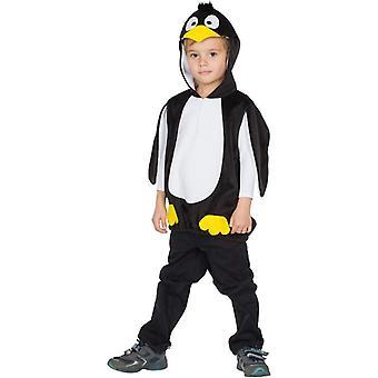 Pingviini lasten puku karnevaali hupullinen tunika arktinen eläin puku