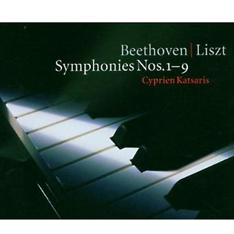 Beethoven/Liszt - Beethoven/Liszt: Symphonies Nos. 1-9 [CD] USA import