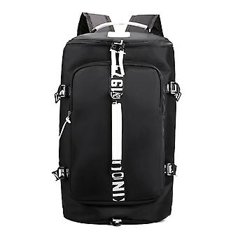Large-capacity leisure backpack for travel and hiking