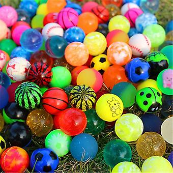 Children Toy Mixed Bouncing Rubber Balls - Outdoor Toys