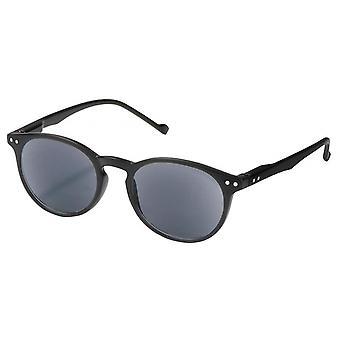 Lesebrille Unisex  Panto Stärke +1,5 / UV-400 schwarz