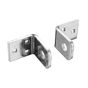 ABUS 115/100 Locking Brackets Pair Carded ABU115100C