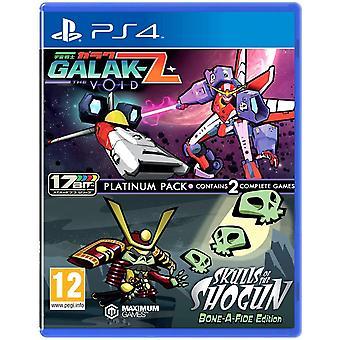 Galak-Z The Void & Skulls of the Shogun Bonafide Edition Platinum Pack PS4 Game