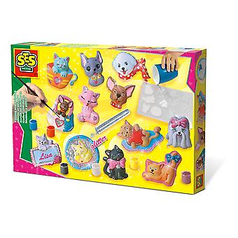 SES Creative : Casting and Painting Cats and Dogs Multi-Colour (1154)