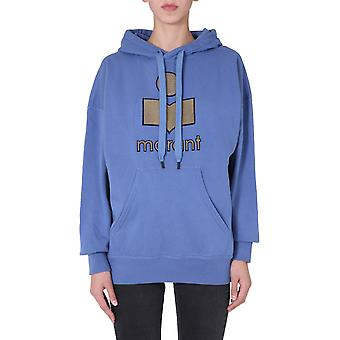 Isabel Marant ÉToile Sw003120a054e30bu Women's Blue Cotton Sweatshirt