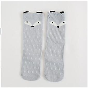 Genou High Heel Warm Cartoon Baby Hot Style Cotton Socks Boy Girl Fox Duck