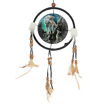 Decorative Wolf Design Dreamcatcher Small X 1 Pack
