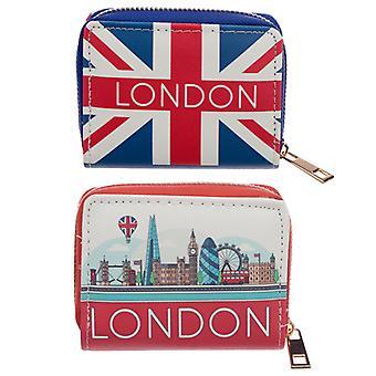 Petit zip autour du portefeuille - London Icons X 1 Pack