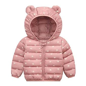 Newborn Baby / Winter Jackets, Cotton Warm Hooded Outerwear Clothes