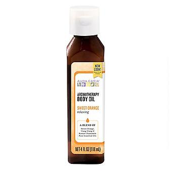 Aura Cacia Bath/Massage Oil, CITRUS, 4 OZ