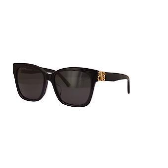 Balenciaga Asian Fit BB0102SA 001 Gafas de Sol Negras/Grises