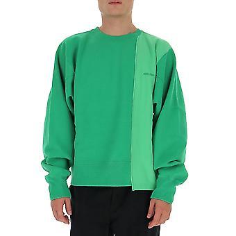 Baghold Bmba003f20fab0015500 Mænd's Grøn Bomuld Sweatshirt