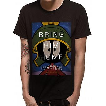 Looney Tunes unisex adultos Marvin a Martian T-shirt