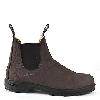 Blundstone 1464 Leather Boots Grey Pebble