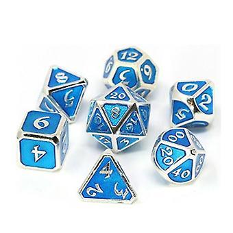 Kostková kovová sada Polyhedral Mythica