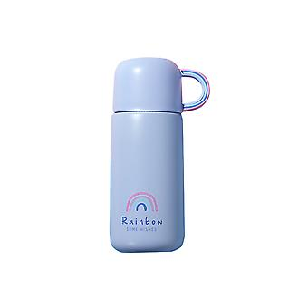 Children's thermos mug is vacuum insulated and leak-proof, cute with mug